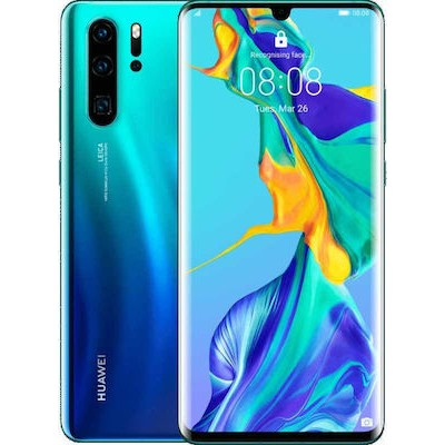 Huawei P30 Pro Dual Sim 8GB RAM 128GB - Aurora Blue