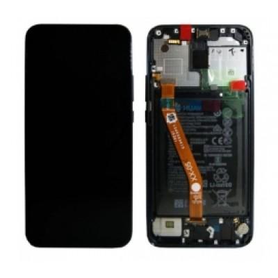 Huawei Mate 20 Lite Screen With Frame Blue OEM