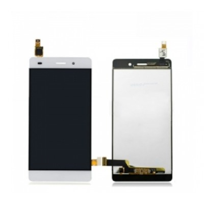 Huawei P8 Lite Screen With Frame White OEM