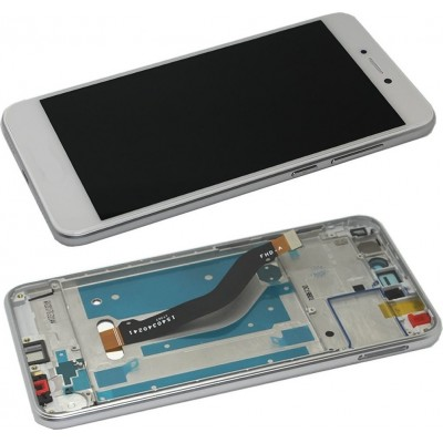 Huawei P9 Lite Screen With Frame White OEM