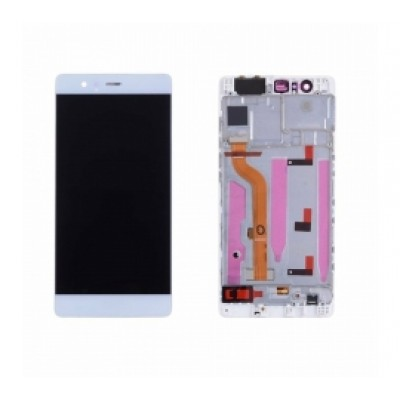 Huawei P9 Screen With Frame White OEM