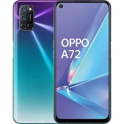 Oppo A72 Dual Sim 4GB RAM 128GB - Purple