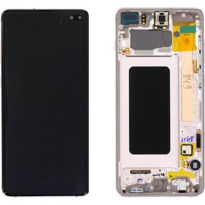 Samsung Galaxy S10+  G975 Screen White