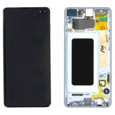 Samsung Galaxy S10+  G975  Screen Blue