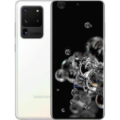 Samsung Galaxy S20 Ultra G988B 5G Dual Sim 128GB - White