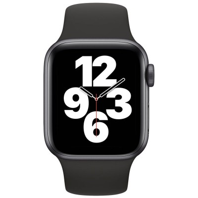 Watch Apple Watch SE GPS 40mm Grey case-Black