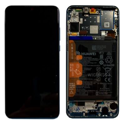 Huawei P30 Lite/Nova 4e Screen Black OEM